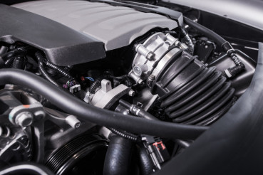 Powerful Car Gas Engine