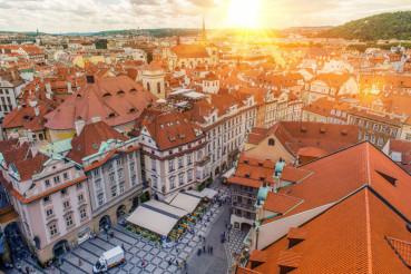 Prague Czechia Old Town