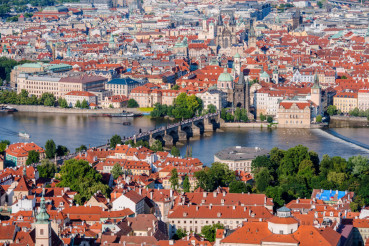 Prague Old Town Cityscape