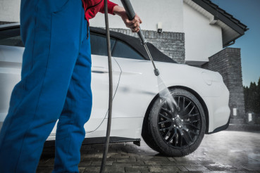Pressure Washer Car Cleaning