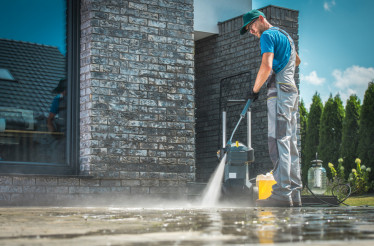Pressure Washer Cleaning