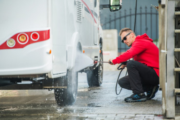 Pressure Washer RV Wash