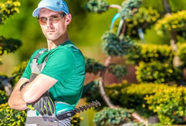 Pro Gardener Portrait