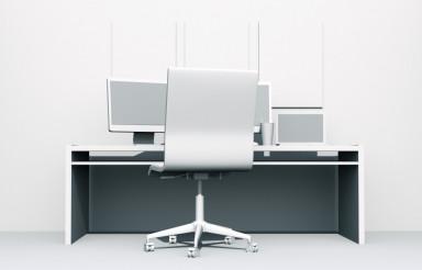 Programmer Desk Illustration