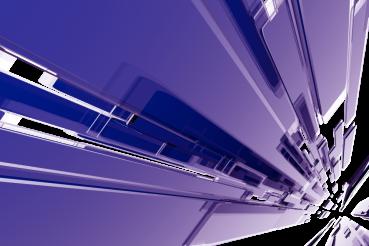 Purple 3D Glass Blocks