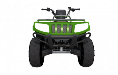 Quad Bike Front View PNG