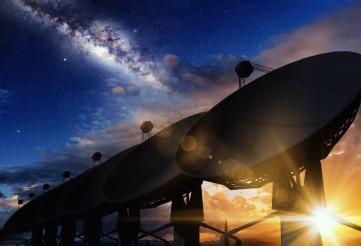 Radio Telescopes Concept