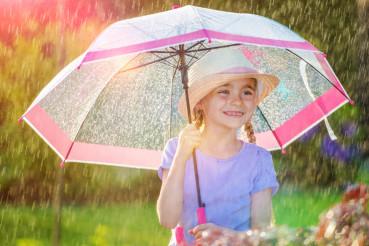 Rainy Weather Outdoor Fun