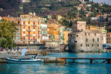 Rapallo Luguria Italy