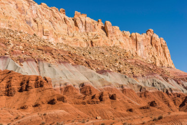 Raw Utah Rock Formations