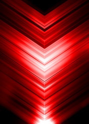 Red Arrows Abstract Background