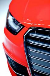 Red Car Front Closeup