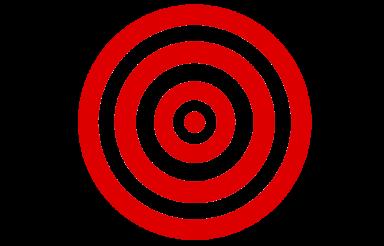 Red Darts Target Aim PNG
