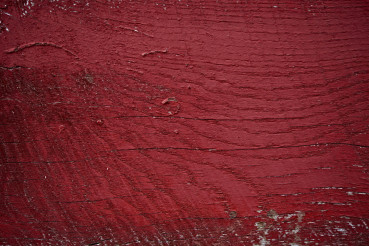 Red Painted Wood