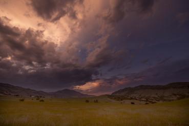 Red Rock Sunset Colorado