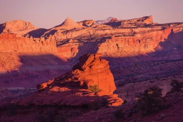 Red Rocks Sunset Scenery