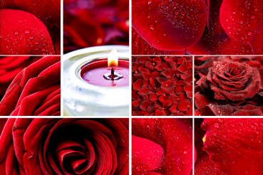 Red Roses Mosaic