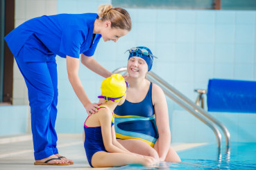 Rehabilitation Pool Session