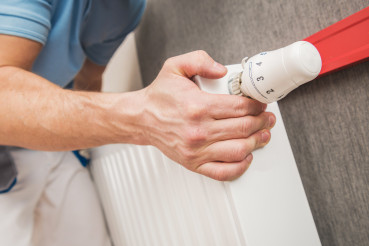 Residential Heating Radiator Installation and Adjustment