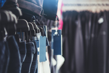 Retail Store Clothes and Price Tags
