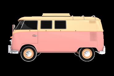 Retro Camper Caravan PNG