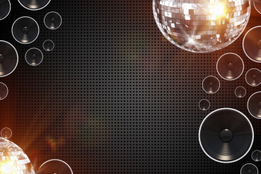 Retro Disco Background