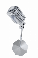 Retro MIcrophone PNG