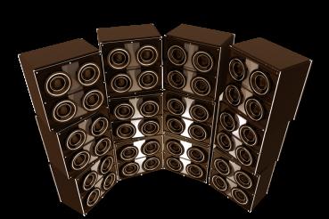 Retro Style Speakers