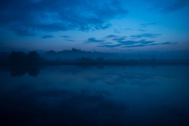 River Reflection Dusk