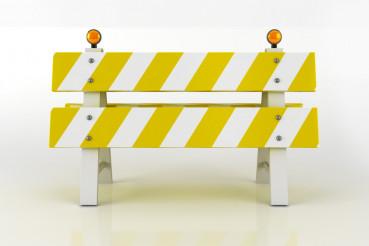 Road Barricade Sign