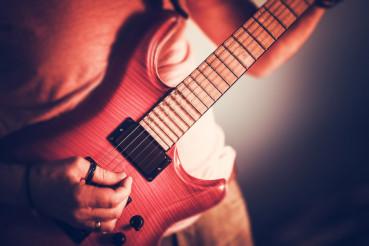 Rockman Guitarist Closeup