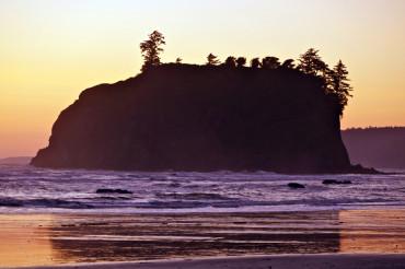 Rocky Island Sunset