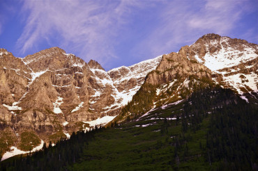 Rocky Mountains Sunset