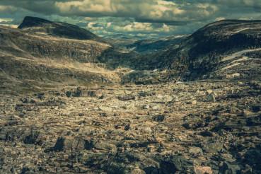 Rocky Norwegian Landscape