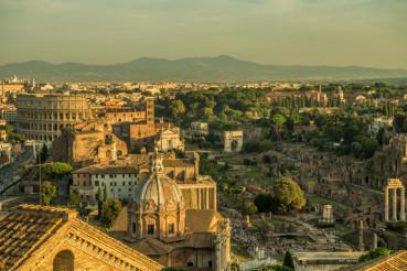 Roman Forum Ruins Italy