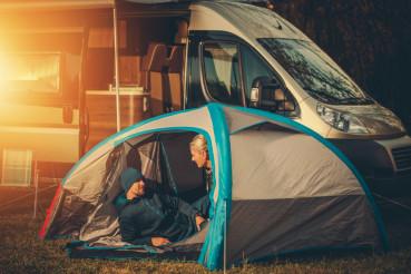 Romantic Camping Spot
