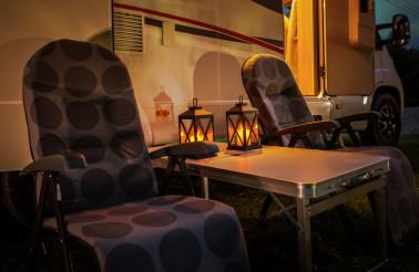 Romantic Motorhome Camping