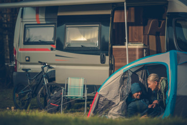 Romantic Tent Camping