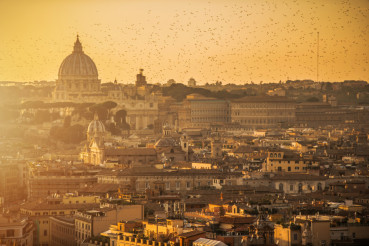 Rome and Vatican Scenery