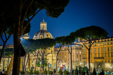 Rome Italy at Night