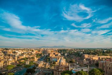 Rome Italy Cityscape