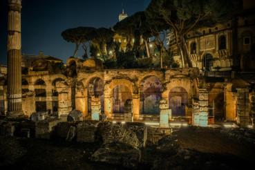 Rome Roman Forum Ruins