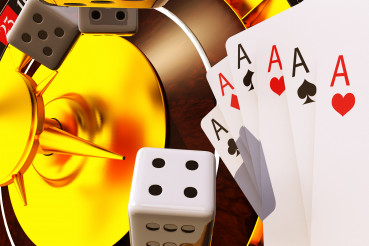 Casino Games Of Poker And Roulette.