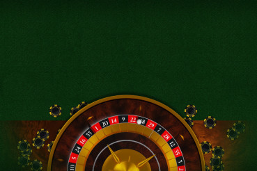 Roulette Table Copy Space