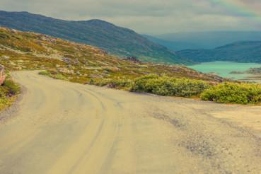 Rural Norwegian Scenic Road