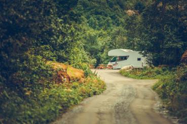 RV Calm Camping Spot