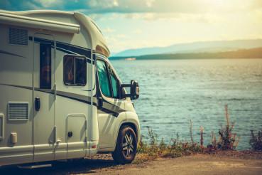 RV Camper Van Traveling