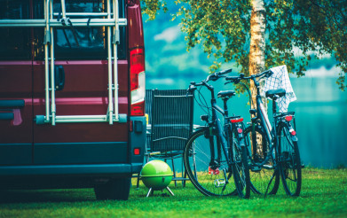 RV Camping and Biking