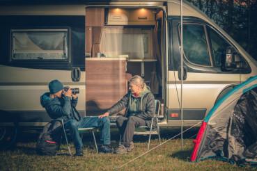 RV Camping Couples Fun