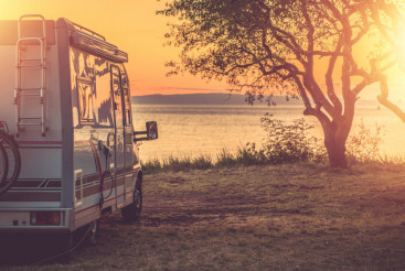 RV Camping with Sea Vista